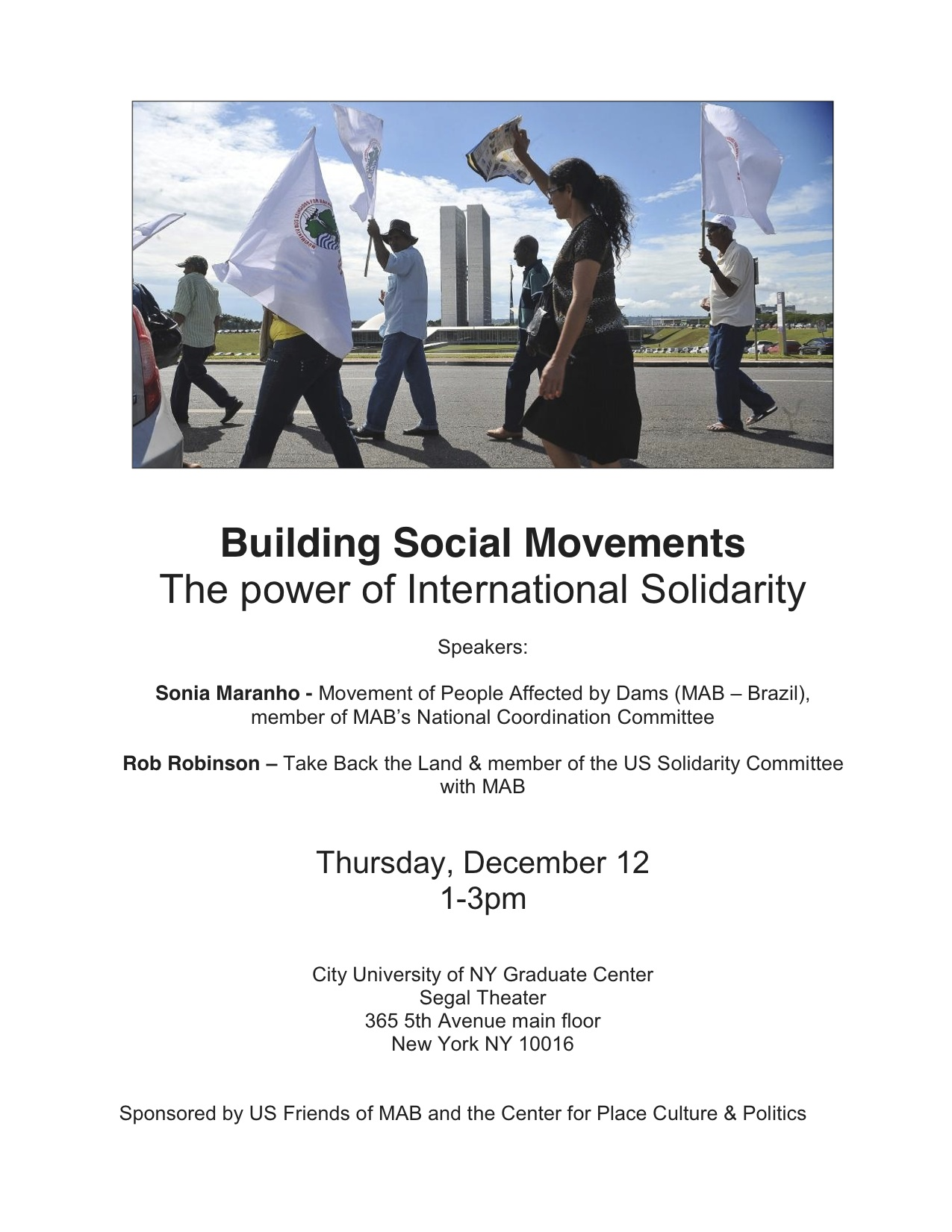 Building Social Movements